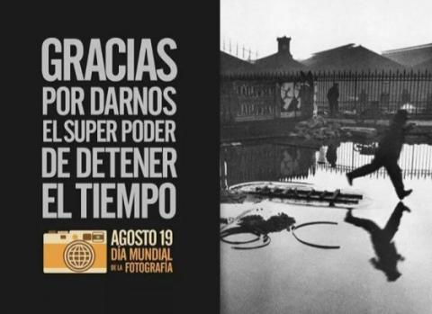 El 19 de Agosto se celebró el Dia Mundial de los Fotógrafos.