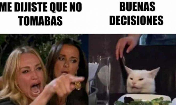¿De dónde salió el popular meme del gato en la mesa y una mujer gritándole?
