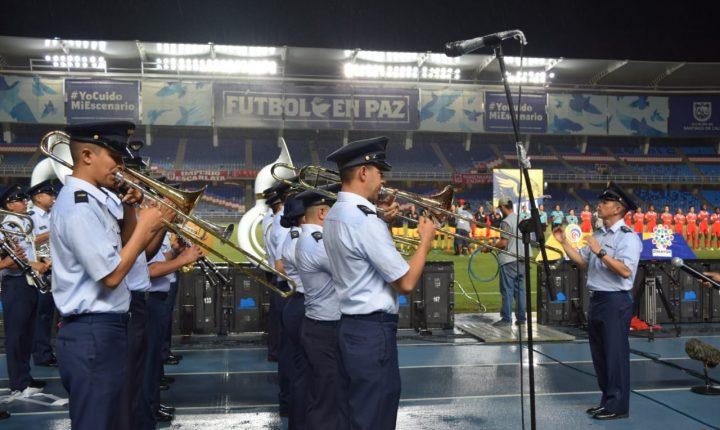 Fuerza Aérea Colombiana presente en la final de la Liga Águila femenina 2019