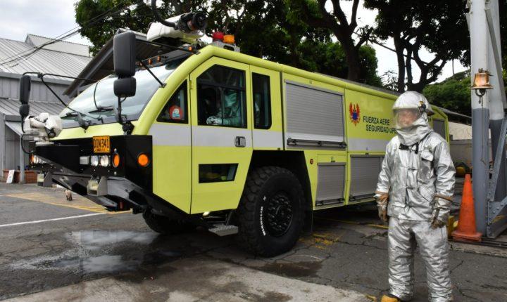 Fuerza Aérea Colombiana participa del Simulacro Nacional de Respuesta a Emergencias en Cali