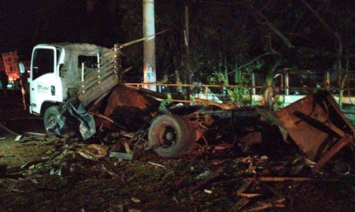 3 policías fallecidos y 4 heridos deja carro bomba en Santander de Quilichao